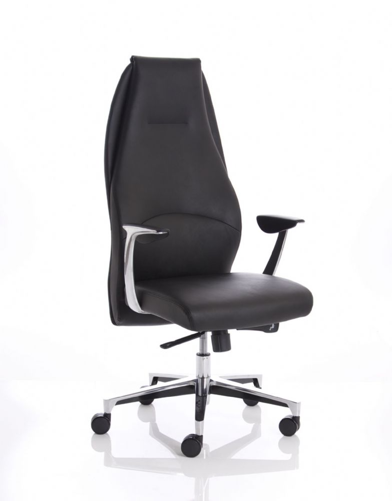 Mien Anti-Shock Reclining Task Chair High Back Engineered Excellence Various Leathers